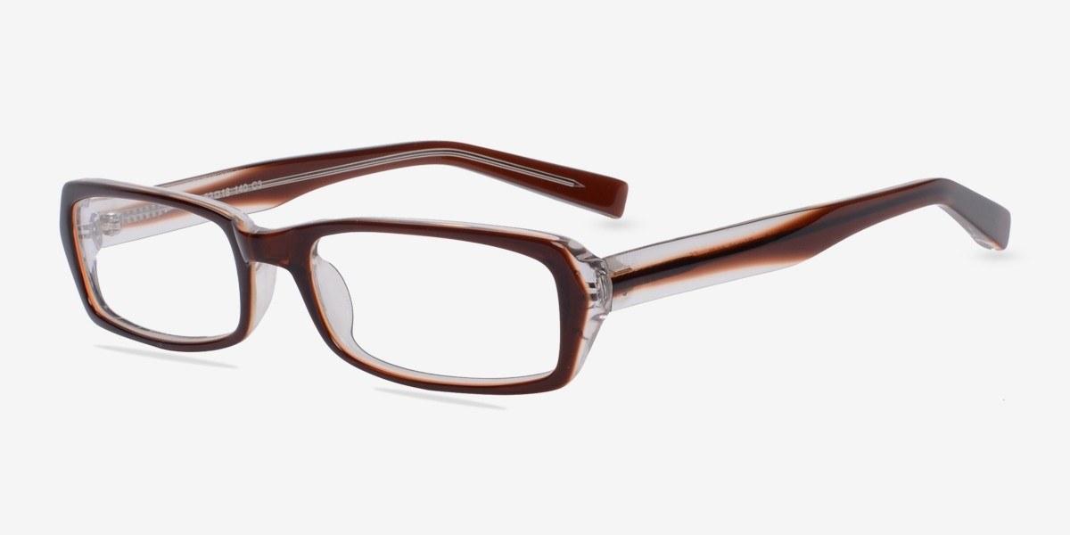 sand clear brown acetate eyeglasses eyebuydirect