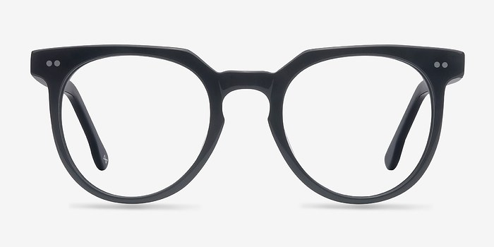 Jet Black Atmosphere -  Geek Acetate Eyeglasses