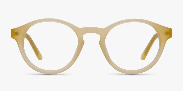 Matte Yellow  Dreamy -  Colorful Acetate Eyeglasses