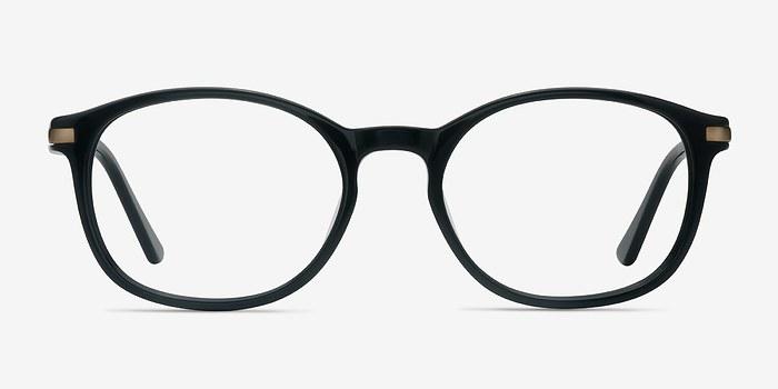 Black New Bedford -  Acetate Eyeglasses