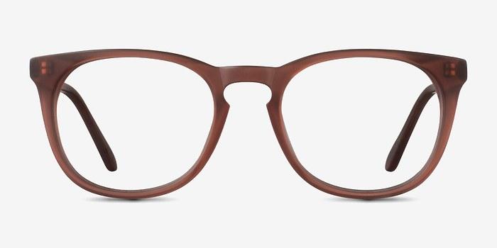Matte Brown Providence -  Fashion Acetate Eyeglasses