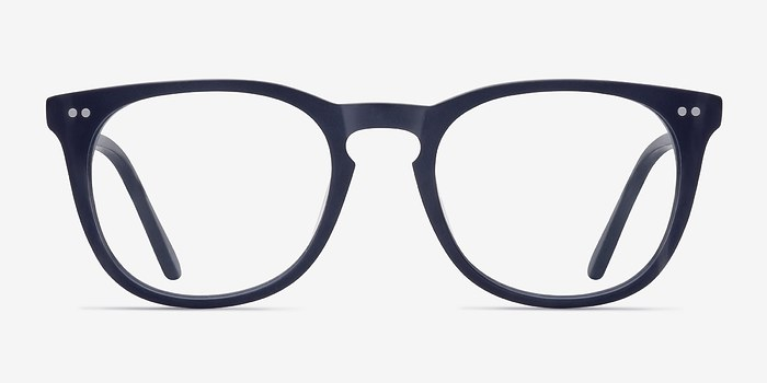 Matte Navy Providence -  Acetate Eyeglasses