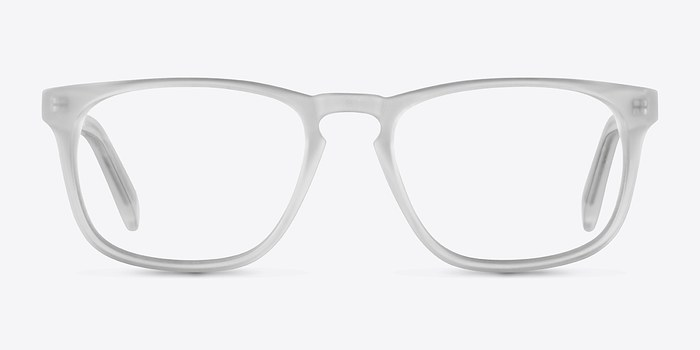Matte Clear Rhode Island -  Geek Acetate Eyeglasses