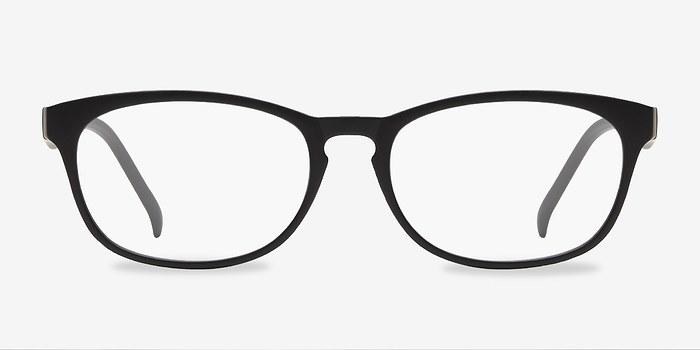 Matte Black Drums -  Classic Plastic Eyeglasses