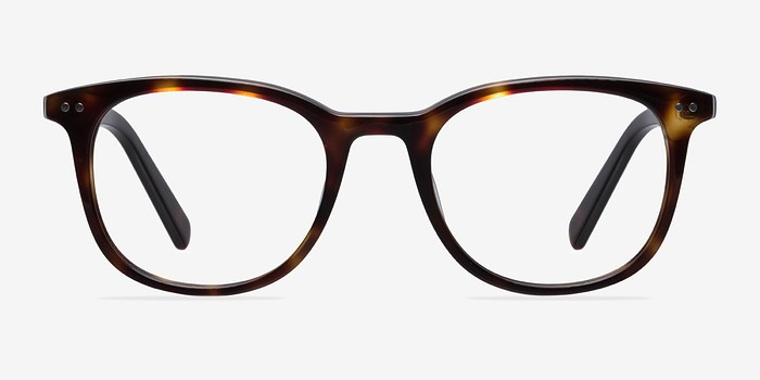 Dark Tortoise Demain -  Fashion Acetate Eyeglasses