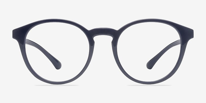 Navy Bright Side -  Classic Plastic Eyeglasses