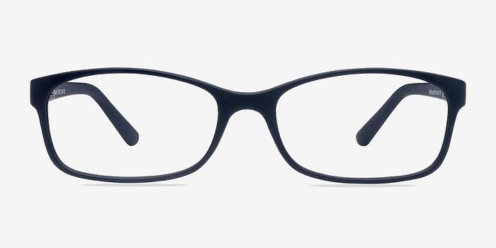 Beads   Matte Navy Plastic Eyeglasses   EyeBuyDirect