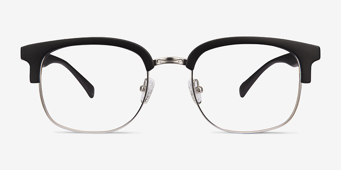 Matte Black Yokote -  Metal Eyeglasses