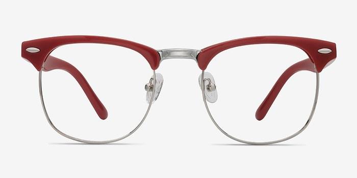 Red Little Coexist -  Colorful Metal Eyeglasses