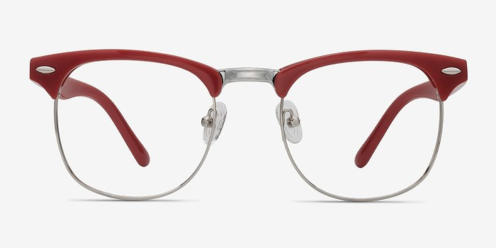 Red Little Coexist -  Colorful Metal Eyeglasses
