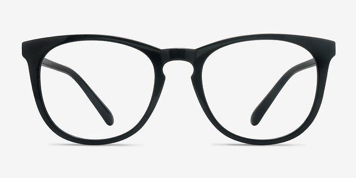 Black Little Providence -  Plastic Eyeglasses