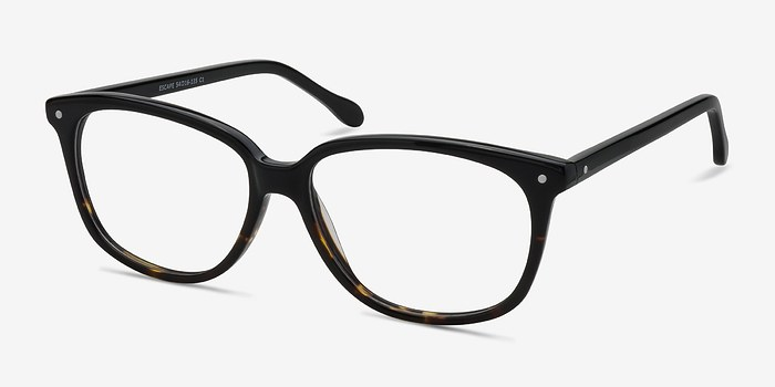 EyeBuyDirect Escape Tortoise Acetate Eyeglasses
