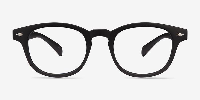 Matte Black Atomic -  Plastic Eyeglasses