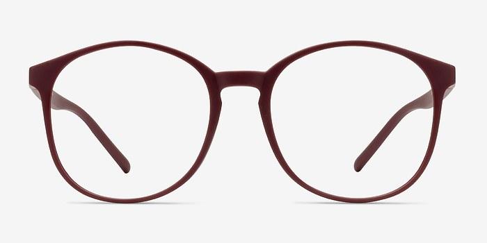 Matte Red Days -  Plastic Eyeglasses