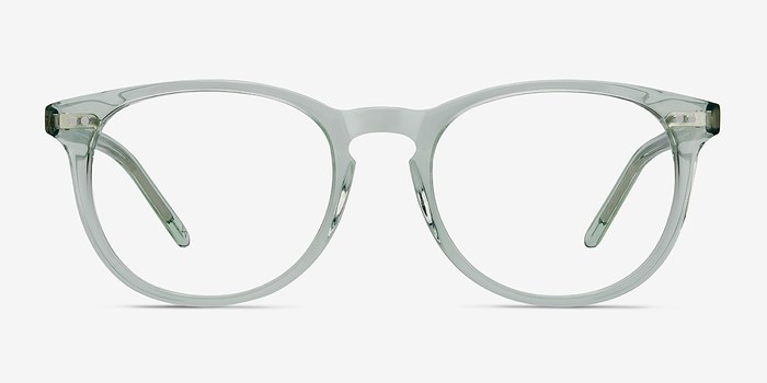 Clear Jade Aura -  Colorful Acetate Eyeglasses