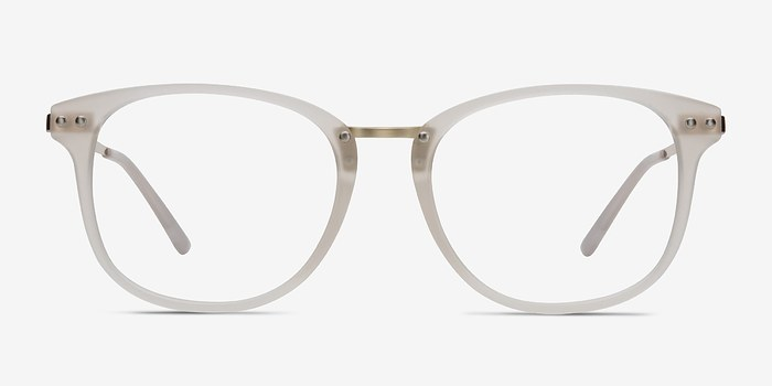 White Cosmo -  Metal Eyeglasses