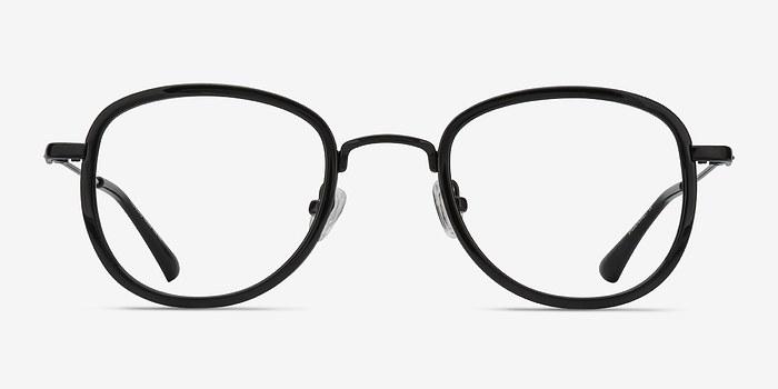 Black Vagabond -  Vintage Plastic Eyeglasses