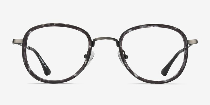 Gray Floral Vagabond -  Plastic Eyeglasses
