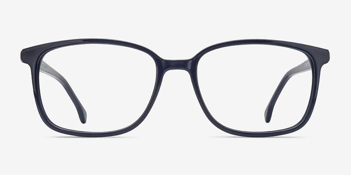 Dark Navy Vale -  Acetate Eyeglasses