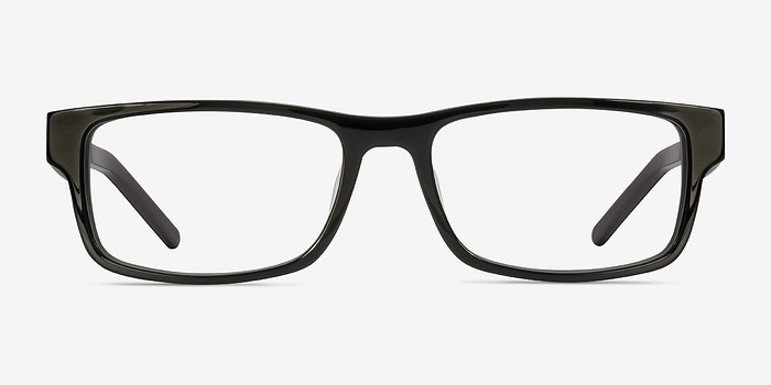 Black Aidan -  Acetate Eyeglasses