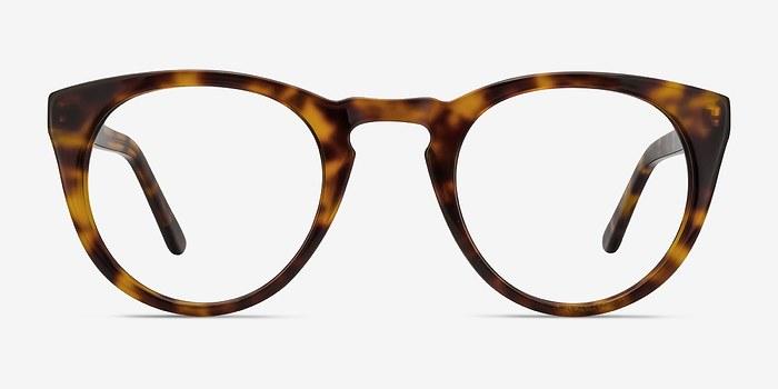 Tortoise Lynx -  Vintage Acetate Eyeglasses
