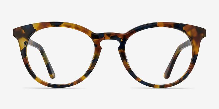 Amber & Navy Griffin -  Geek Acetate Eyeglasses
