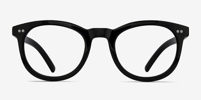 Black Solar -  Vintage Plastic Eyeglasses