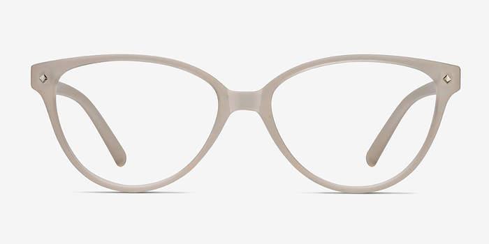 Matte Clear Dame -  Plastic Eyeglasses