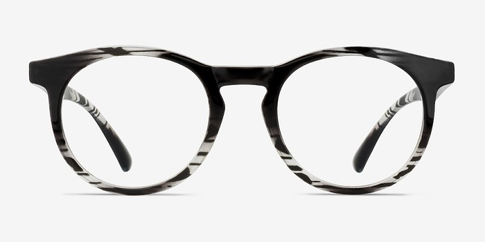 Black clear Thrill -  Plastic Eyeglasses