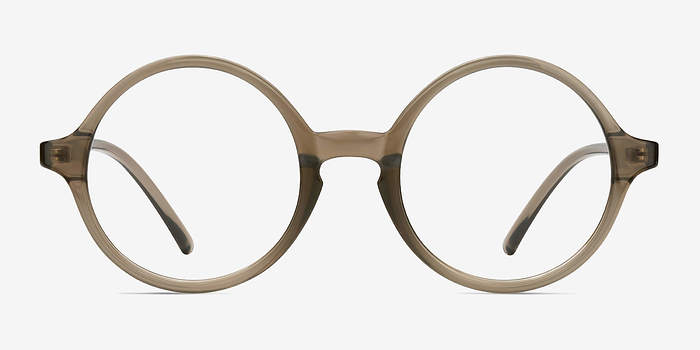 Gray Clear Years -  Vintage Plastic Eyeglasses