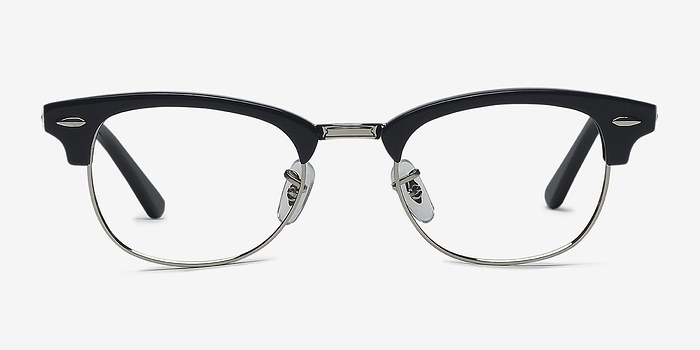 Navy Silver Sweet Jane -  Fashion Acetate Eyeglasses