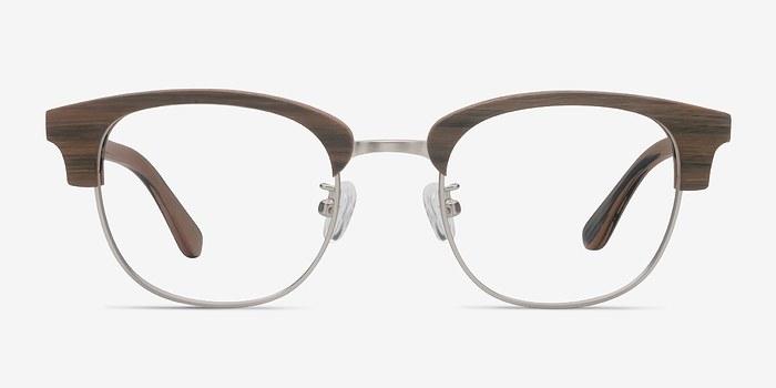 Walnut Bansai -  Wood Texture Eyeglasses