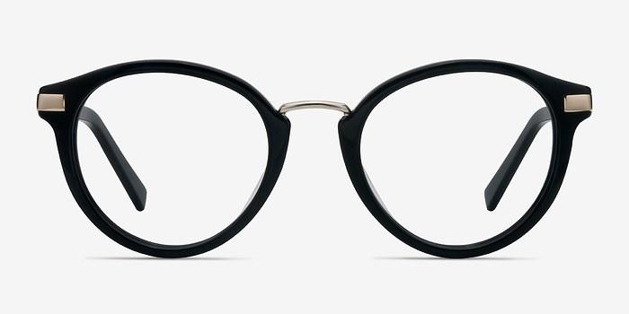 Black Yuke -  Designer Acetate Eyeglasses