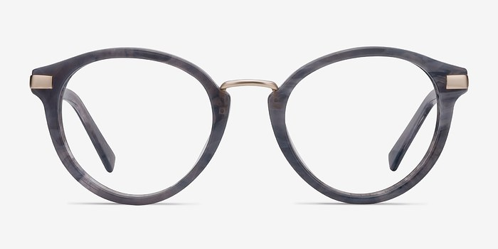 Dark Gray Yuke -  Designer Acetate Eyeglasses
