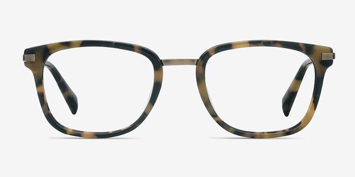 Tortoise Audacity -  Designer Acetate Eyeglasses