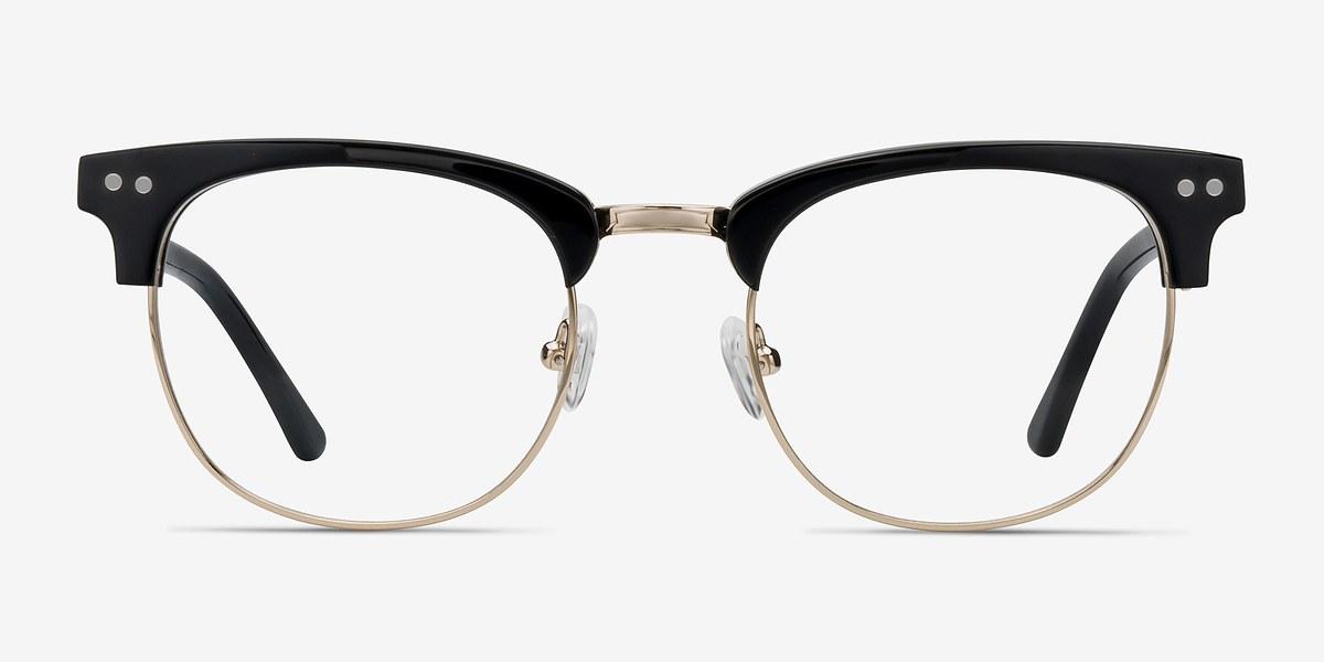 borderline black acetate eyeglasses eyebuydirect