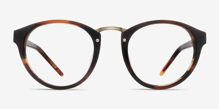 Brown Rita -  Designer Acetate Eyeglasses