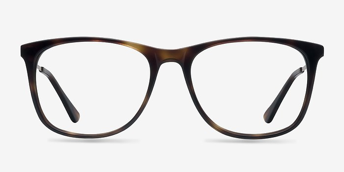 Tortoise Contrast -  Fashion Acetate Eyeglasses