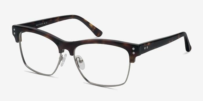 EyeBuyDirect Benoit Tortoise Acetate Eyeglasses