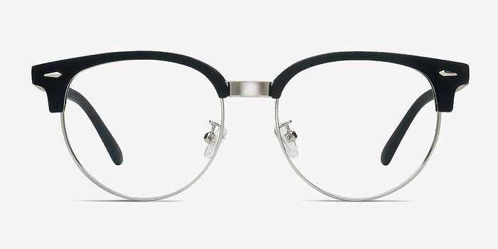 Matte Black Narita -  Metal Eyeglasses