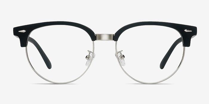 Matte Black Narita -  Vintage Metal Eyeglasses