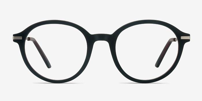 Matte Brown Juno -  Plastic Eyeglasses