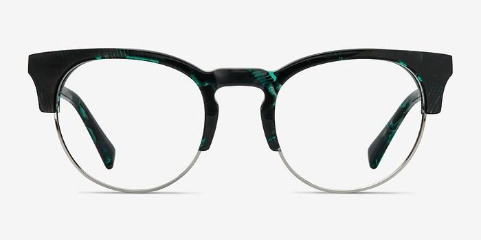Green Floral Macaw -  Acetate Eyeglasses