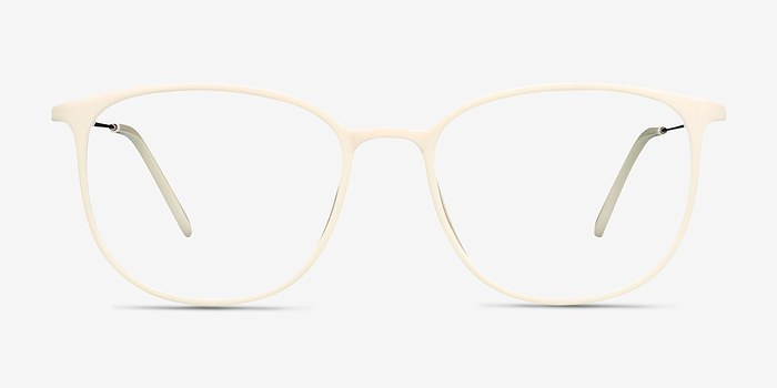 White Strike -  Metal Eyeglasses