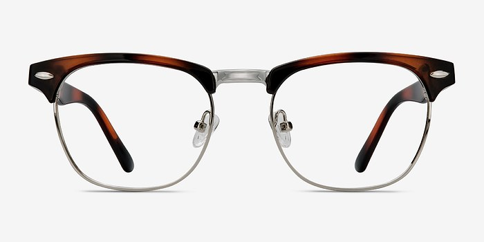 Tortoise Coexist -  Metal Eyeglasses