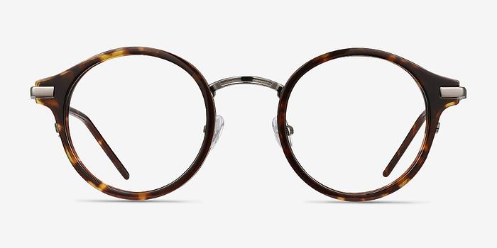 Tortoise Roto -  Acetate Eyeglasses