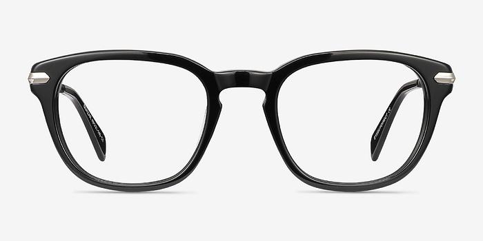 Black Quazar -  Acetate Eyeglasses