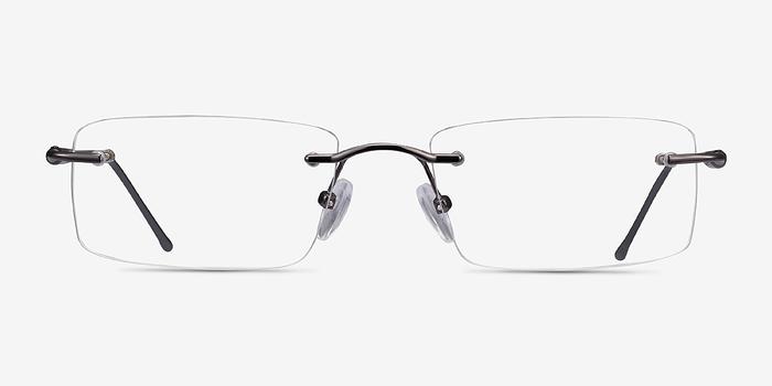 Gunmetal/Gray Pickering -  Lightweight Metal Eyeglasses