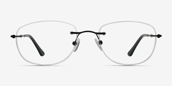Black Potential -  Lightweight Metal Eyeglasses