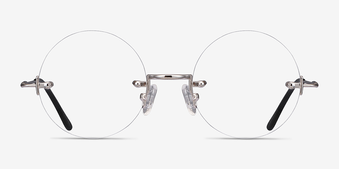 Silver Palo Alto -  Metal Eyeglasses